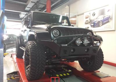 Jeep Wrangler Unlimited Rubicon (black)