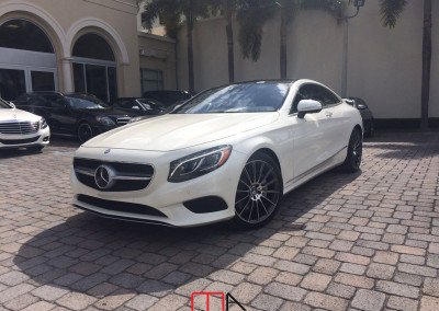 Mercedes-Benz S-Class S550 Coupe