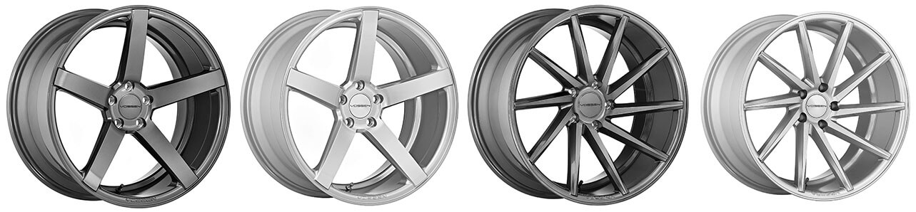 Vossen CV Series Wheel Lineup