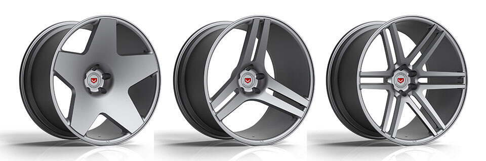Vossen Precision Series Wheel Lineup