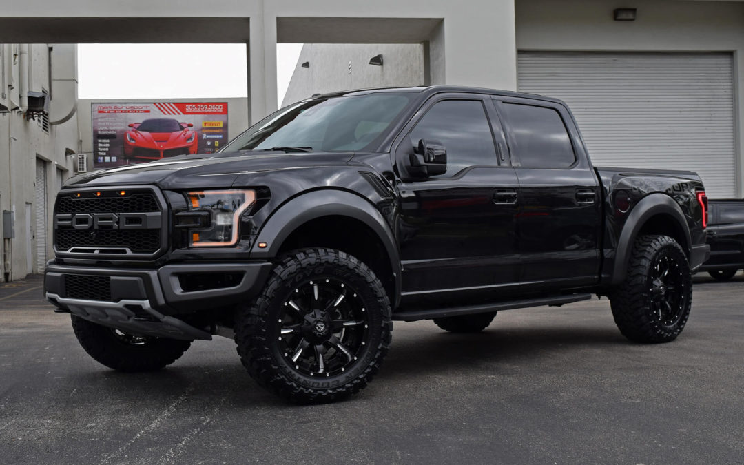 Ford Raptor on Fuel Wheels