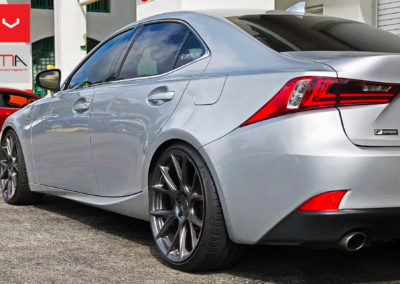 Lexus IS 350 F Sport Silver On VFS6's and RS-R Springs