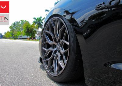 Mustang 5.0 On HF2 Tinted Matte Gunmetal